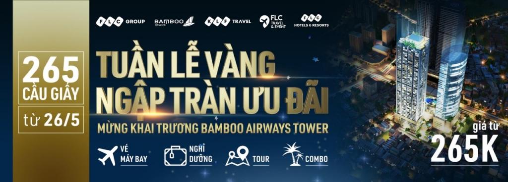 dai tiec uu dai tri gia hang chuc ty dong nhan dip khai truong bamboo airways tower 265 cau giay