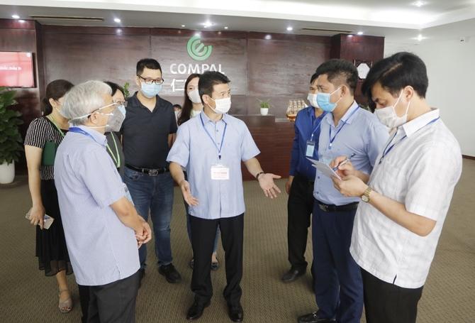 Vĩnh Phúc lập tổ phản ứng nhanh hỗ trợ huyện Lập Thạch phòng chống Covid-19