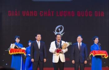 Tân Hiệp Phát được vinh danh Giải Vàng giải thưởng Chất lượng quốc gia