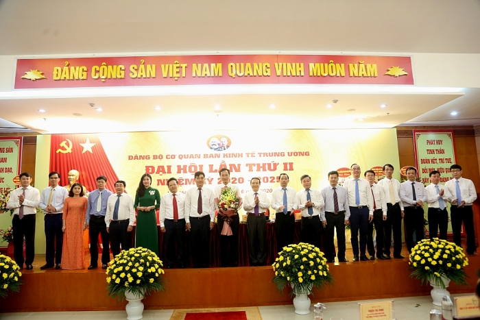 Ông Nguyễn Hữu Nghĩa được bầu giữ chức Bí thư Đảng ủy Ban Kinh tế Trung ương