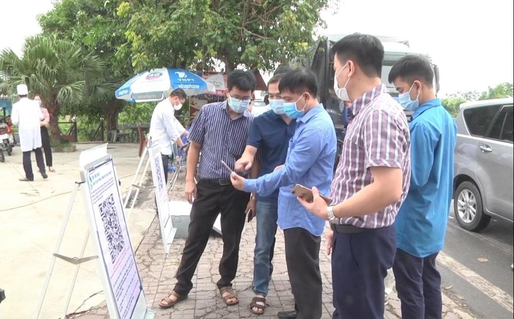 Bắt buộc khai báo y tế điện tử đối với người ngoại tỉnh vào Vĩnh Phúc