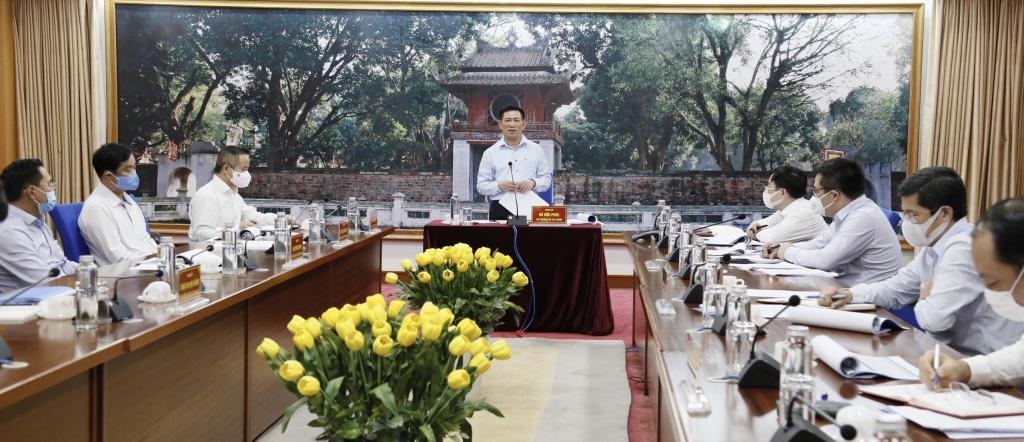 Bộ trưởng Hồ Đức Phớc làm việc với Tập đoàn Bảo Việt