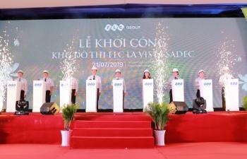 Tập đoàn FLC khởi công khu đô thị FLC La Vista Sadec ở Đồng Tháp