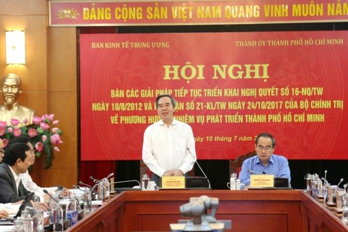 Xem xét tăng tỷ lệ điều tiết ngân sách cho TPHCM