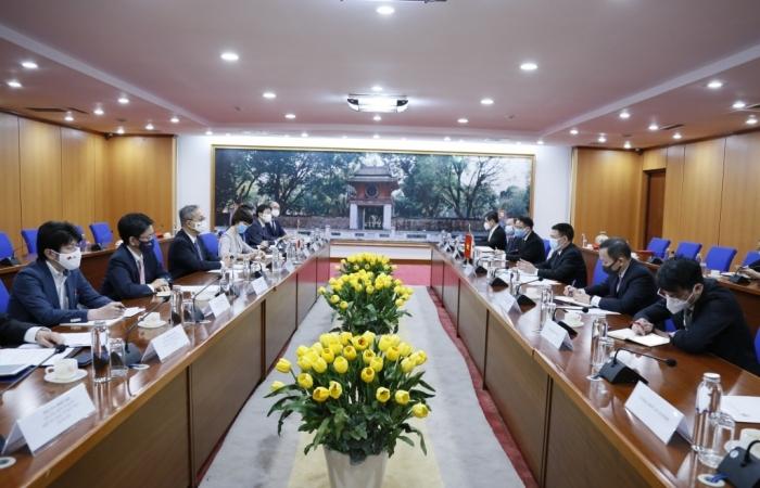 Quan hệ Việt Nam - Nhật Bản ngày càng tiến triển mạnh mẽ