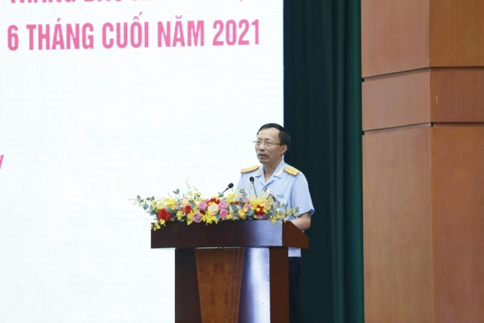 Tổng cục trưởng Nguyễn Văn Cẩn: Thu ngân sách Hải quan phù hợp tốc độ tăng trưởng kim ngạch XNK