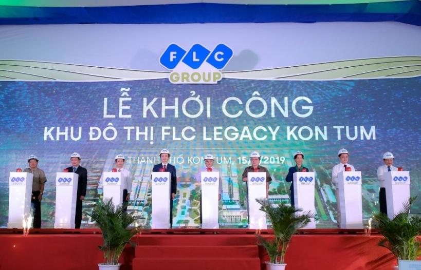FLC khởi công đô thị cao cấp FLC Legacy Kon Tum