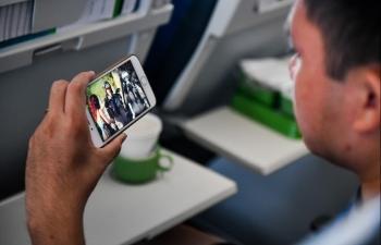 Bamboo Airways áp dụng công nghệ giải trí không dây Bamboo Sky tiên tiến nhất