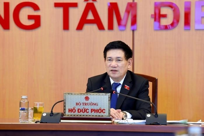 Bộ trưởng Hồ Đức Phớc hội đàm trực tuyến với Phó Chủ tịch ADB
