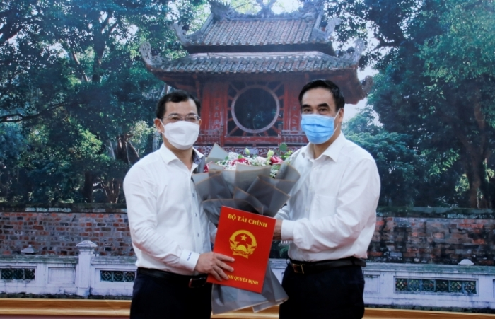Bổ nhiệm ông Nguyễn Tân Thịnh giữ chức Cục trưởng Cục Quản lý công sản