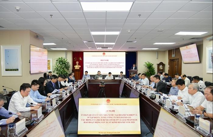 Thành lập Tổ công tác đặc biệt của Ủy ban Quản lý vốn tháo gỡ khó khăn cho doanh nghiệp
