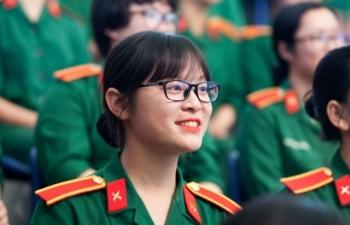 Năm 2019, có 4 trường quân đội tuyển sinh thí sinh nữ
