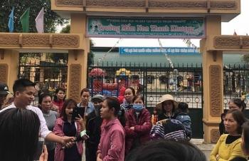 Đình chỉ hiệu trưởng trường Mầm non Thanh Khương vì nghi vấn tuồn thức ăn thối vào trường học