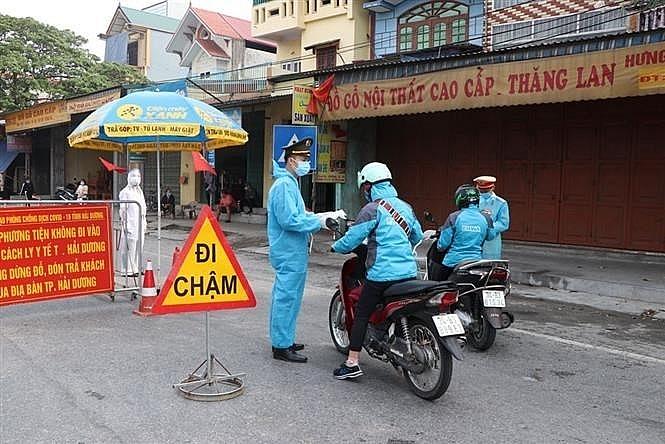 Từ ngày 18/3, toàn tỉnh Hải Dương sẽ thực hiện giãn cách xã hội theo Chỉ thị số 19 của Thủ tướng. Ảnh internet