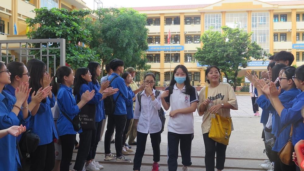 Sở GD&ĐT Hà Nội đã kiểm tra hồ sơ xác định chỉ tiêu tuyển sinh vào lớp 10, năm học 2021-2022 của 104 trường THPT ngoài công lập. Ảnh ĐH