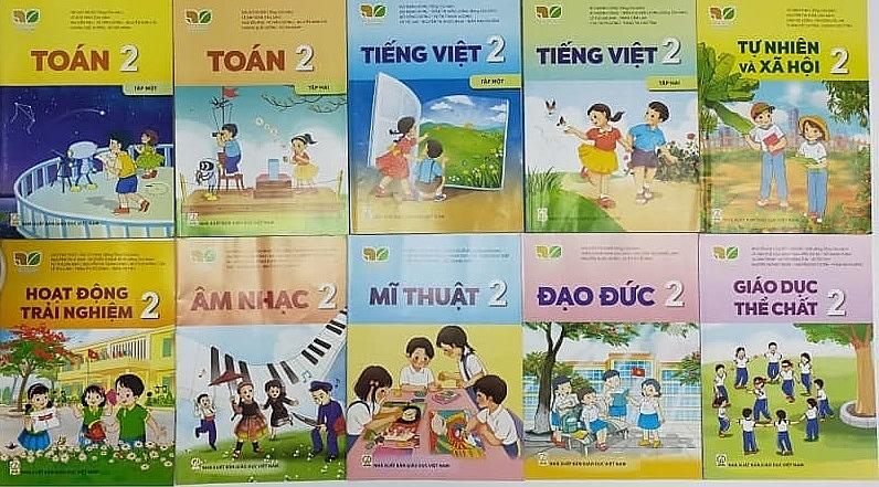 Năm học 2021-2022, sẽ triển khai sách giáo khoa lớp 2 mới vào trường học. Ảnh Thương Nguyễn