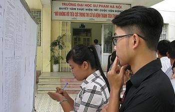 Tuyển sinh đại học, cao đẳng 2019: Hà Nội có thí sinh đăng ký 50 nguyện vọng