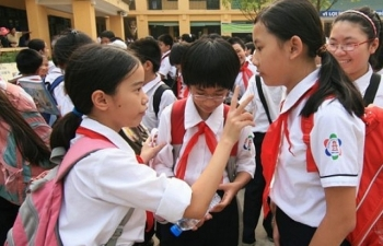 Tuyển sinh lớp 6: Trường THCS Thanh Xuân thi đánh giá năng lực