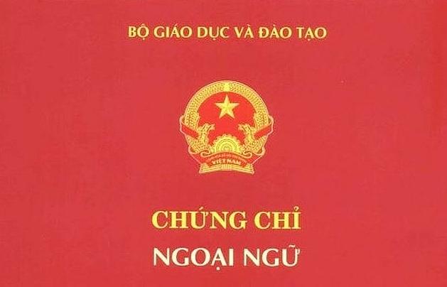 8 don vi du dieu kien to chuc thi va cap chung chi ngoai ngu theo khung 6 bac