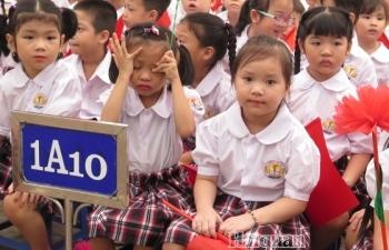 Hà Nội: Tuyển sinh đầu cấp bắt đầu từ ngày 1/8