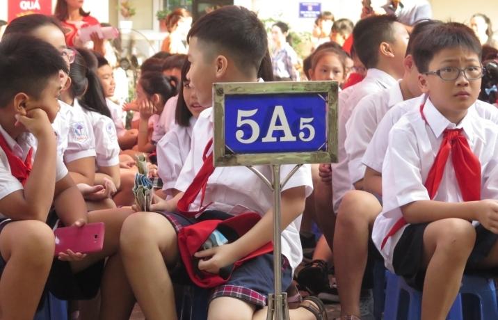 """Các trường """"hot"""" ở Hà Nội công bố phương án tuyển sinh vào lớp 6"""