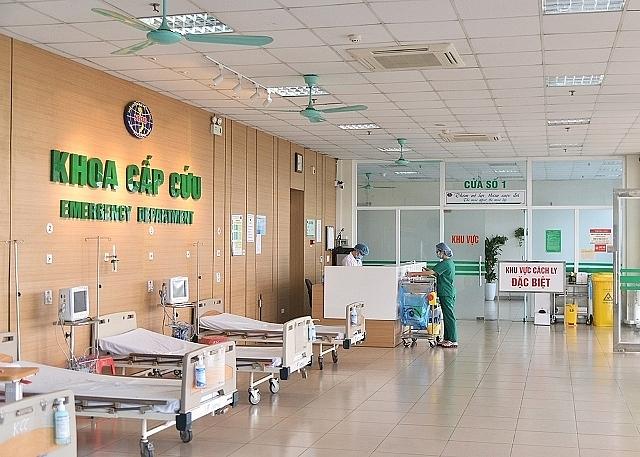 Bệnh viện đã ngững tiếp nhận bệnh nhân. Ảnh internet.