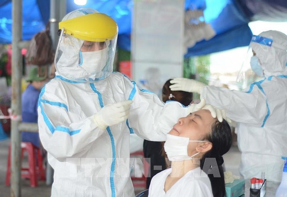 Thái Bình phát hiện 5 ca nhiễm Covid-19. Ảnh internet.