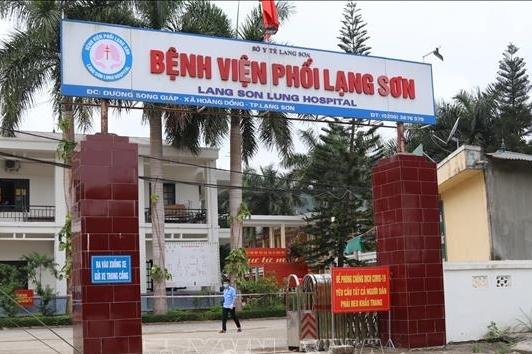 Phong tỏa Bệnh viện Phổi Lạng Sơn do có ca mắc Covid-19