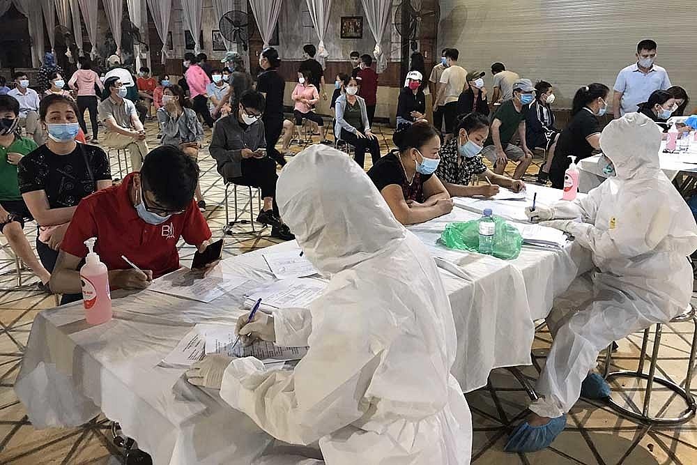 Bắc Ninh đang nhanh chóng truy vết những trường hợp đến Bệnh viện K và Nhiệt đới Trung ương. Ảnh internet.
