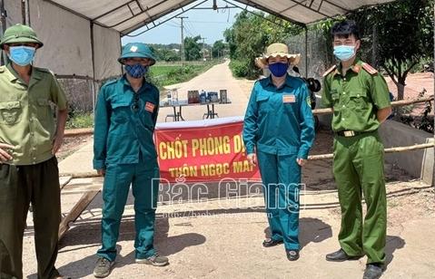 Bắc Giang: Lấy mẫu xét nghiệm 100% người lao động tại DN có ca F0, F1
