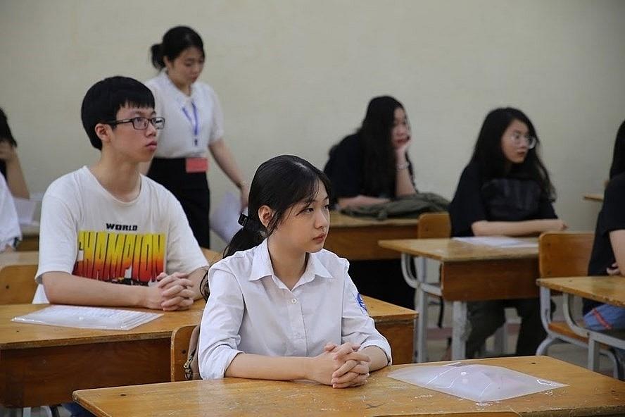 các khối lớp chưa hoàn thành kiểm tra định kì sẽ thực hiện khi học sinh quay trở lại trường. Ảnh internet.