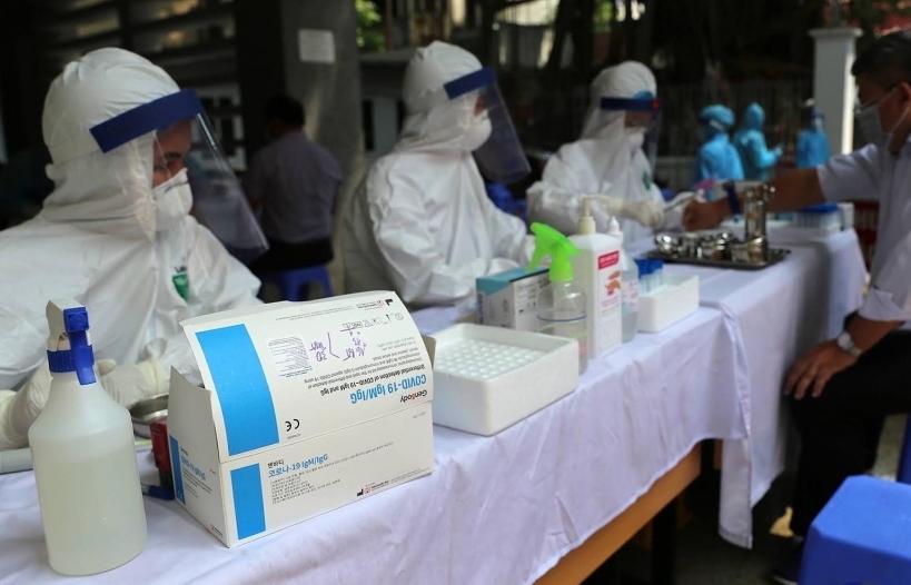 Hà Nội: Hơn 10.000 mẫu xét nghiệm Covid-19 cho người trở về từ Đà Nẵng đều âm tính