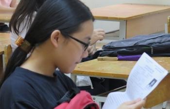 Ngày thi đầu tiên của Kỳ thi THPT quốc gia có 34 thí sinh vi phạm quy chế