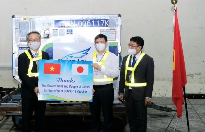 Nhật Bản viện trợ thêm 1 triệu liều vắc xin Astrazeneca cho Việt Nam
