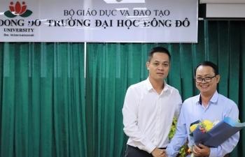 Đại học Đông Đô có tân Phó Hiệu trưởng phụ trách