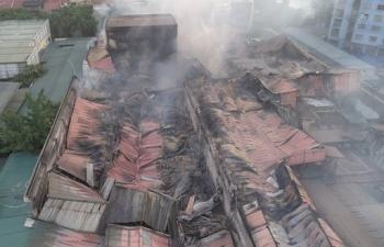 Trường Đại học Khoa học tự nhiên có bị ô nhiễm thủy ngân từ vụ cháy công ty Rạng Đông?