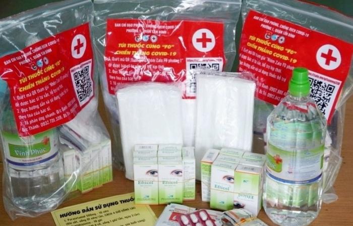 Yêu cầu nhanh chóng phát túi thuốc dành cho F0 điều trị tại nhà