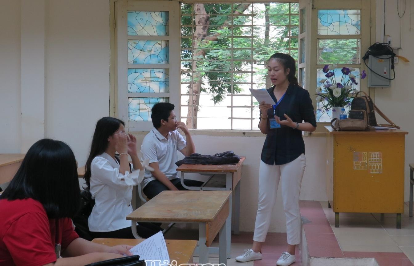 Hà Nội thi khảo sát đối với học sinh lớp 12 trước kỳ thi tốt nghiệp THPT