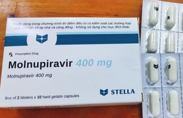 Thuốc Molnupiravir 400 mg được đưa vào phác đồ điều trị Covid-19