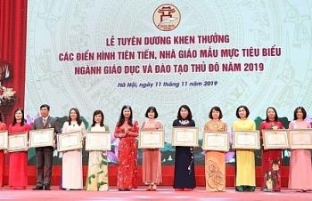 Hà Nội tôn vinh 125 giáo viên tiêu biểu