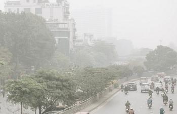 Chất lượng không khí Hà Nội tiếp tục theo chiều hướng xấu