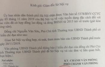 Hà Nội rà soát giáo viên hợp đồng có đóng bảo hiểm xã hội từ 2015 trở về trước