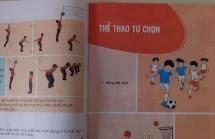 lo dien sach giao khoa giao duc the chat dau tien trong chuong trinh moi