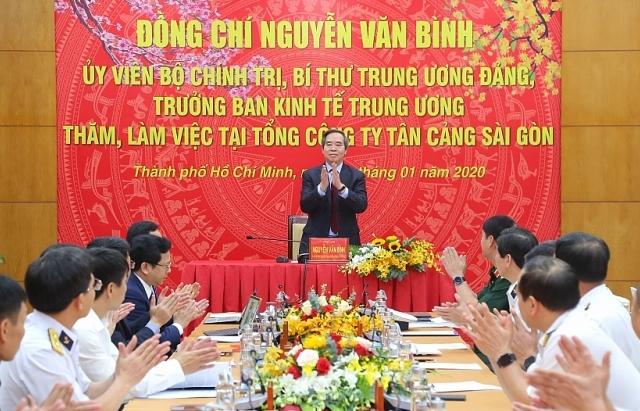 Tân Cảng Sài Gòn- điểm sáng phát triển kinh tế gắn với quốc phòng, an ninh