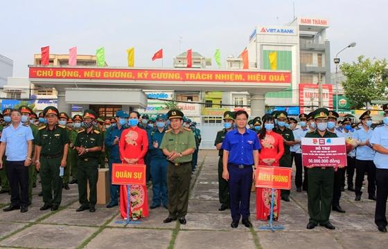 An Giang: Sáu lực lượng tăng cường cho tuyến biên giới phòng chống dịch