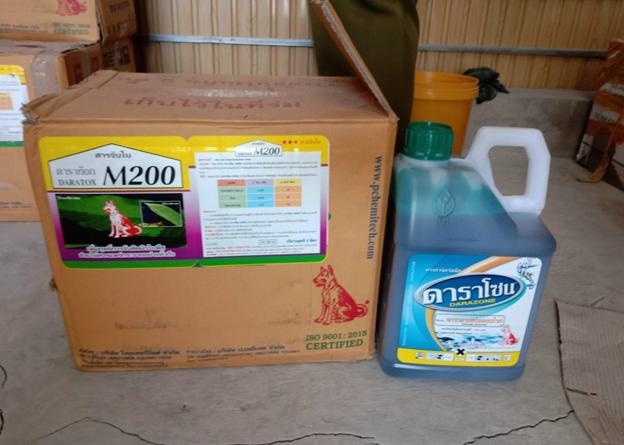 Phát hiện kho chứa hàng nghìn chai nghi thuốc bảo vệ thực vật