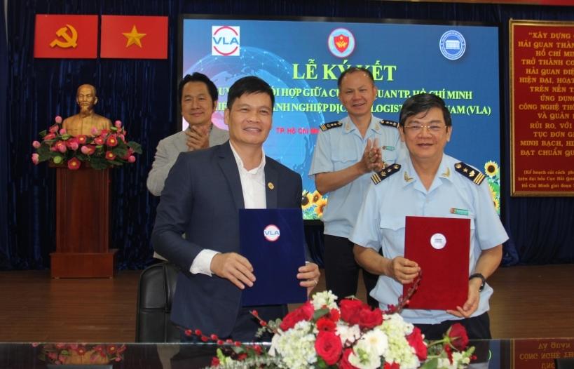 Hải quan TPHCM và VLA ký kết hợp tác tạo thuận lợi thương mại