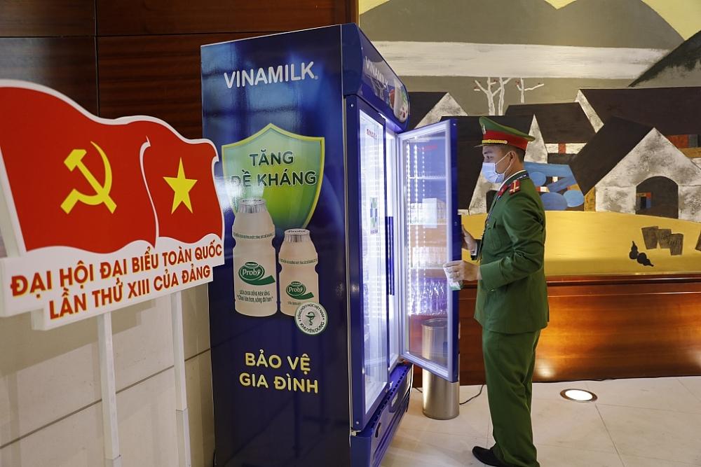 Sản phẩm của Vinamilk vinh dự được chọn phục vụ cho các sự kiện lớn của Quốc gia