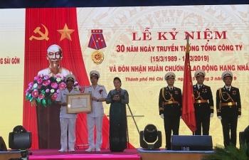 Tân cảng Sài Gòn: Điểm sáng phát triển kinh tế biển