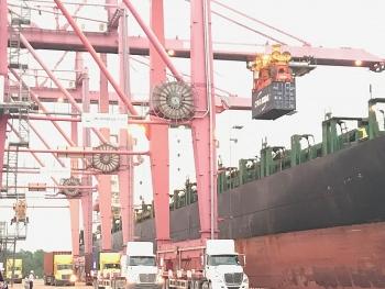 Đón chuyến tàu vận chuyển hàng hóa trực tiếp từ Việt Nam đến Australia